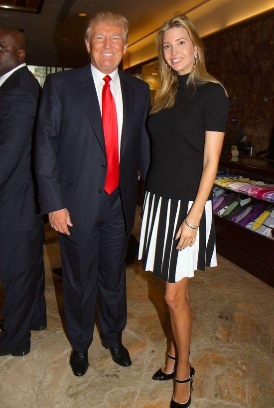 Nowe zdjęcia Ivanki i Doanlda Trumpa wywoło burzę w sieci