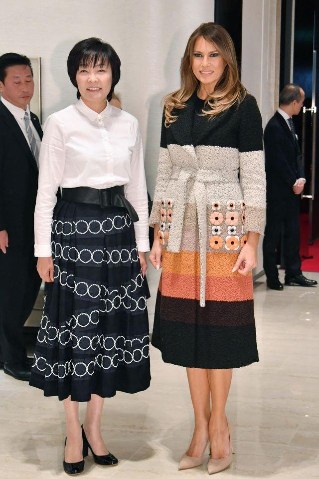 Ivanka czy Melania? Która lepiej reprezentuje USA w Japonii? (ZDJĘCIA)