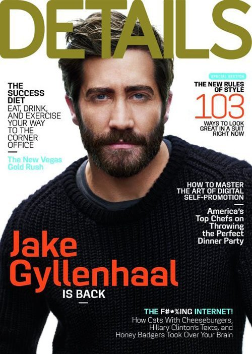 Jake Gyllenhaal lubi swoją brodę (FOTO)