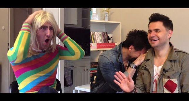 Jakóbiak jako Mariolka  i rolowanie w łazience 20 m [VIDEO]