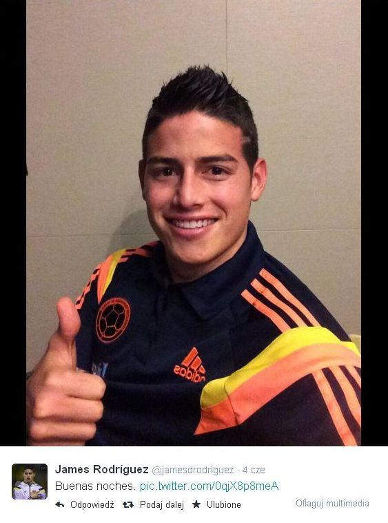 James Rodriguez nową gwiazdą futbolu [VIDEO]