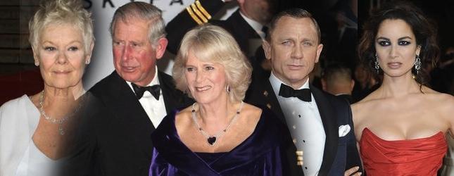 James Bond: Skyfall – premiera filmu (FOTO)