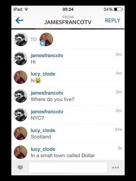 Skandal? James Franco umawia się z nastolatką (FOTO)