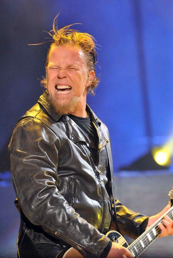 James Hetfield z grupy Metallica na scenie z córką [VIDEO]