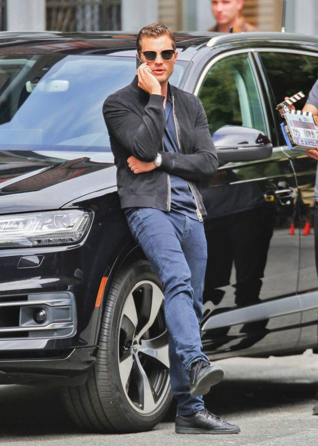 Jamie Dornan coraz bardziej przystojny? (FOTO)