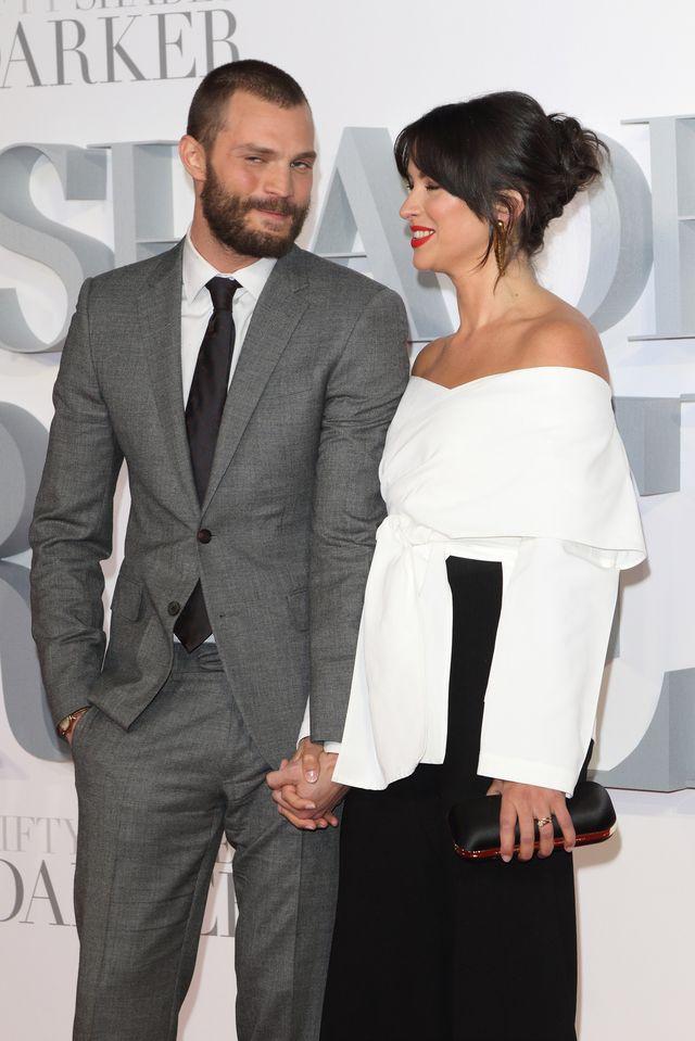 Złośliwi mówią, że Dakota jest od niej ładniejsza - Jamie Dornan z żoną
