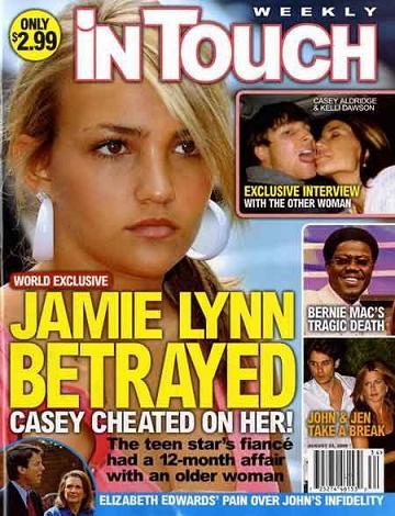 Casey Aldridge: Nie zdradzałem Jamie Lynn!