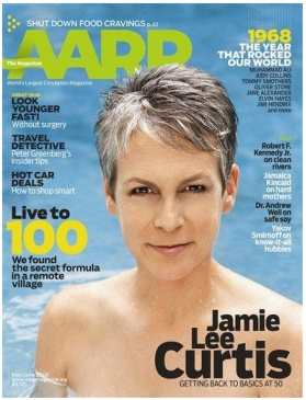 Jamie Lee Curtis nago