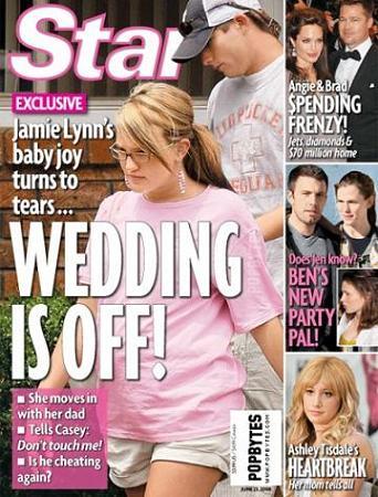 Znajomi Jamie Lynn: Dobrze, że nie będzie ślubu