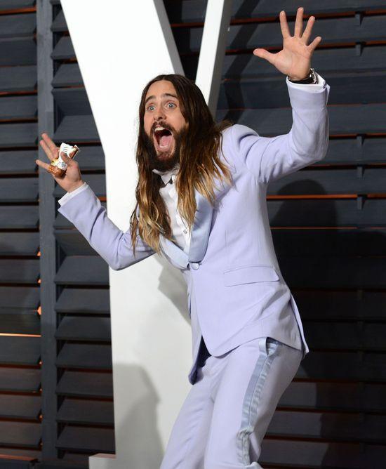 Jared Leto wariuje na planie filmowym?