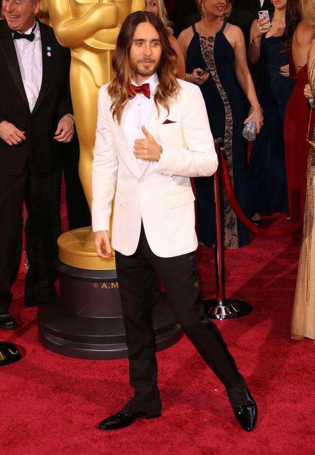 Nagrodzony Oskarem Jared Leto pozdrawia Ukrainę