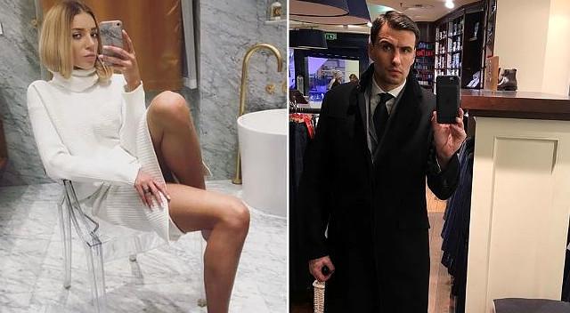 Bieniuk wrzucił zdjęcie w szykownej stylizacji, Martyna Gliwińska komentuje