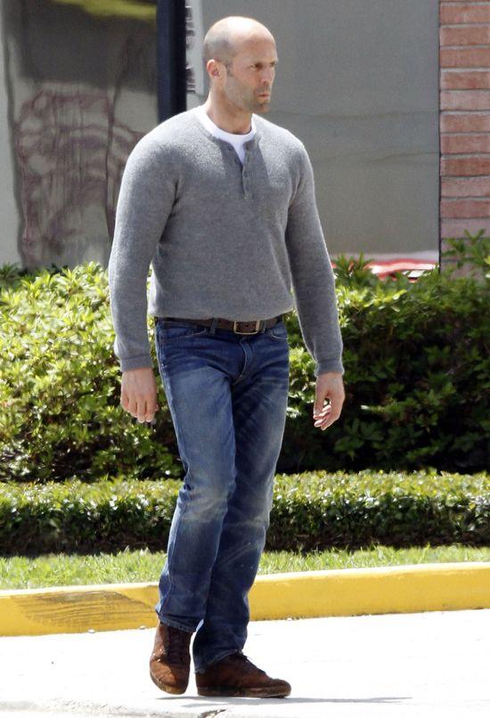 Jason Statham jest na diecie