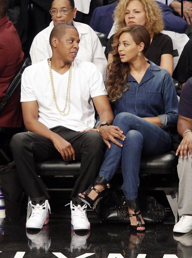 Jay Z OSZALAŁ na punkcie pociążowych kształtów Beyonce