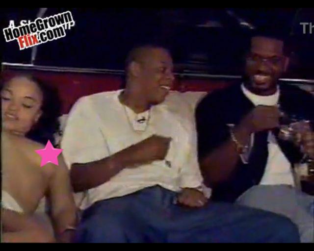 Jay Z z dwiema kobietami uprawiaj�cymi seks [VIDEO]
