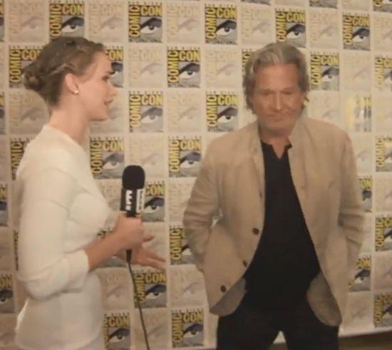 Jennifer Lawrence spanikowała, gdy zobaczyła Jeffa Bridgesa