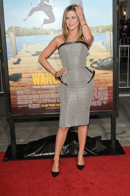 Jennifer Aniston do ślubu pójdzie w małej czarnej?
