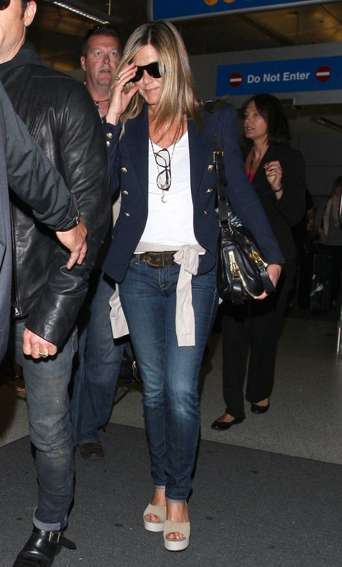 Jennifer Aniston: Dzieci wywołują tyle zamieszania! (FOTO)