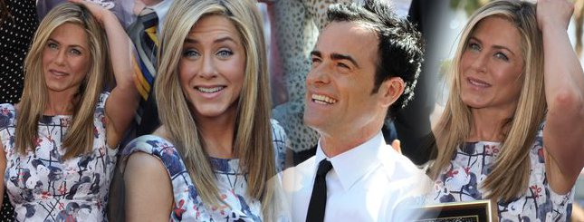 Jennifer Aniston ma gwiazdę w Hollywood (FOTO)