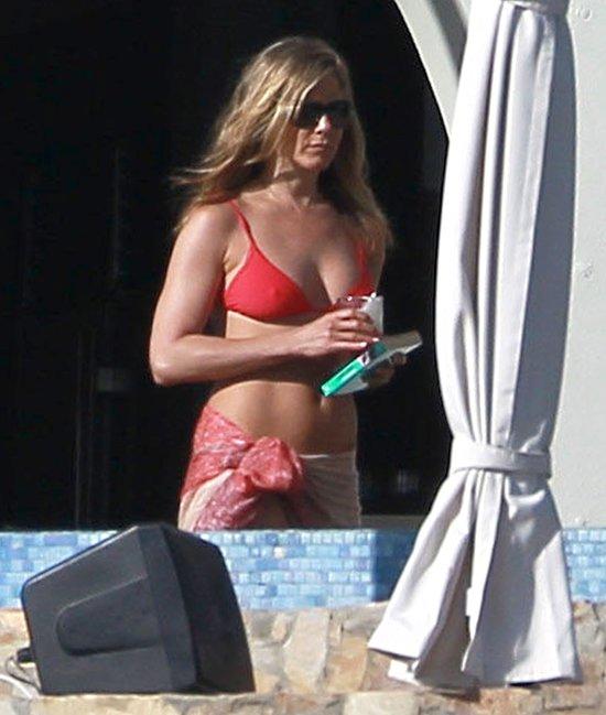 Jennifer Aniston z Justinem Theroux w Meksyku (FOTO)