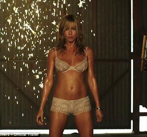 Striptiz i taniec na rurze Jennifer Aniston [VIDEO]
