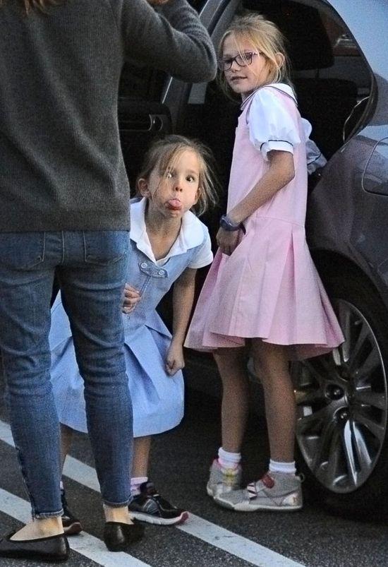 Córka gwiazdorskiej pary pokazała, gdzie ma paparazzi (FOTO)