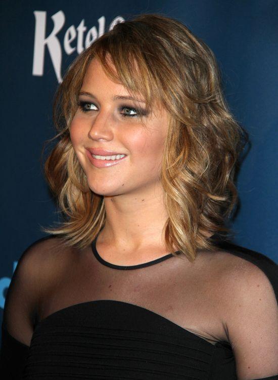 Jennifer Lawrence i jej nowa fryzura