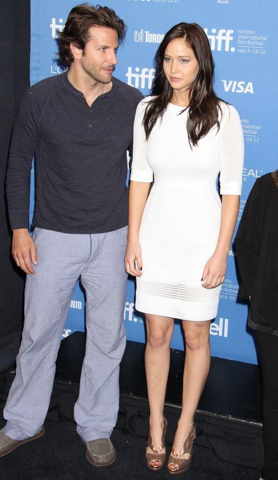Jennifer Lawrence i Bradley Cooper sp�dzili ze sob� noc?