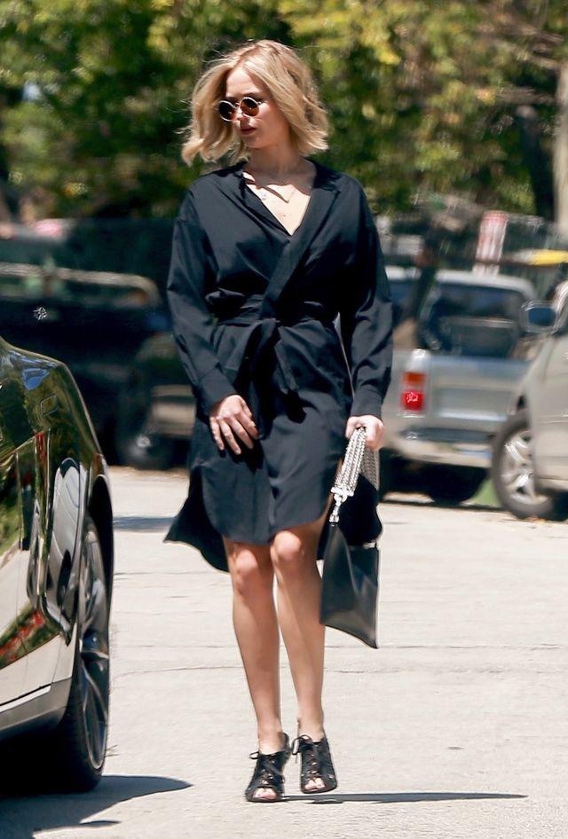 Jennifer Lawrence w nowej fryzurze, która ma szansę stać się hitem lata