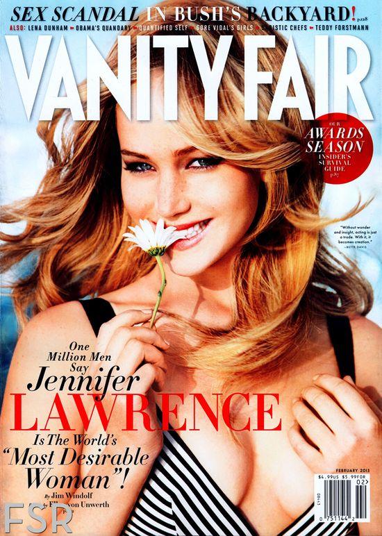 Jennifer Lawrence - najbardziej pożądana kobieta (FOTO)