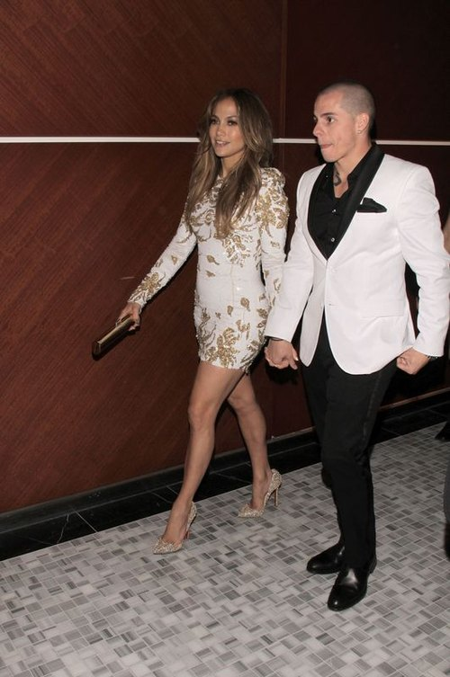Jennifer Lopez i Casper Smart w Las Vegas (FOTO)