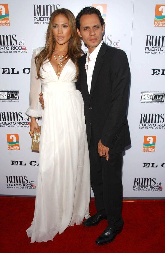 Marc Anthony rozstaje się z żoną i całuje Jennifer Lopez
