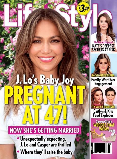 Jennifer Lopez jest w ci��y!