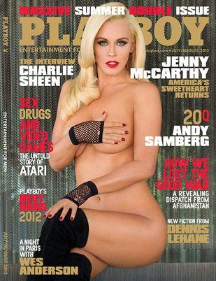 Ma prawie 40 lat i po raz 6. ląduje w Playboyu (FOTO)