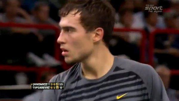 Jerzy Janowicz w p�finale turnieju tenisowego ATP Masters!!