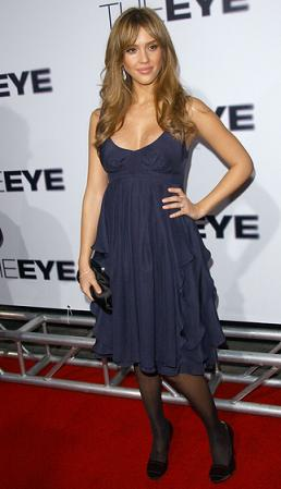 "Jessica Alba na premierze ""The Eye"""