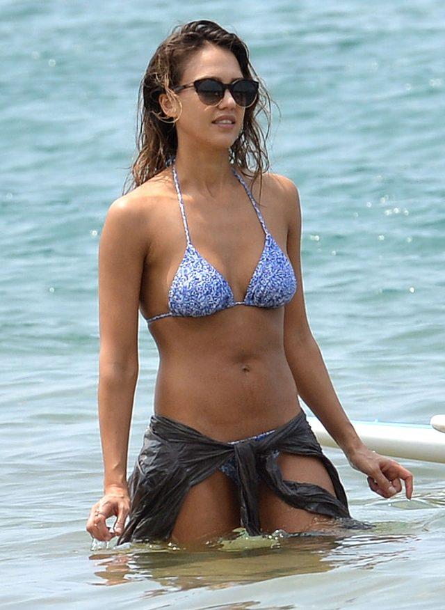 Jessica Alba w bikini (FOTO)