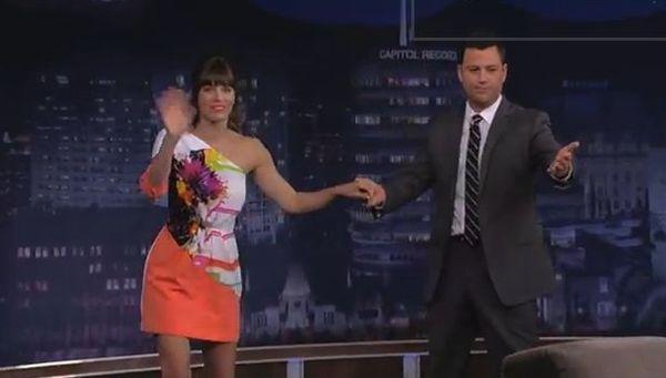 Jessica Biel u Jimmy'ego Kimmela (FOTO)