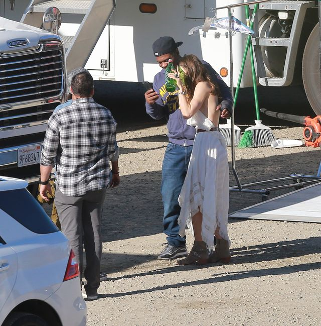 Jessica Biel w romantycznej sukience w sekretnym projekcie (ZDJĘCIA)