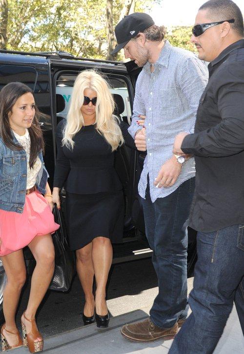 Jessica Simpson pokazała odchudzoną figurę (FOTO)