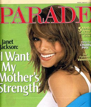 Janet Jackson dla Parade