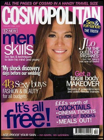 Jennifer Lopez dla Cosmopolitan