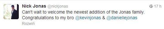 Kevin Jonas i Danielle Jonas spodziewają się dziecka!