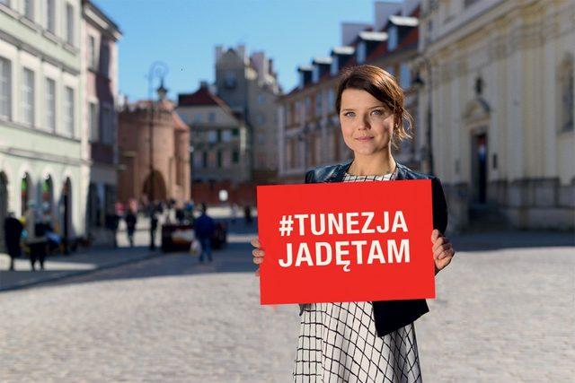 Jabłczyńska tłumaczy się z udziału w kampanii Tunezja...