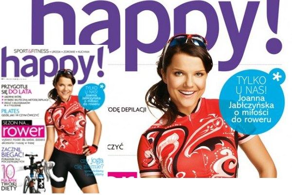 Joanna Jab�czy�ska twarz� nowego magazynu (FOTO)
