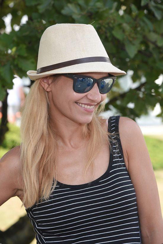 Joanna Koroniewska w Międzyzdrojach jak modelka (FOTO)