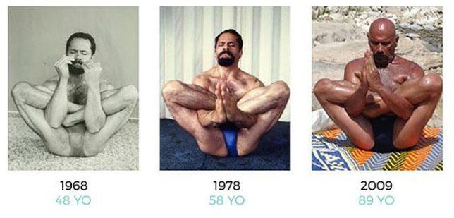 NIE DO WIARY! Ten jogin ma 95 lat, a czuje się jak 30-latek