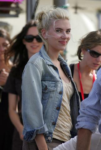 Scarlett zagra Marilyn?