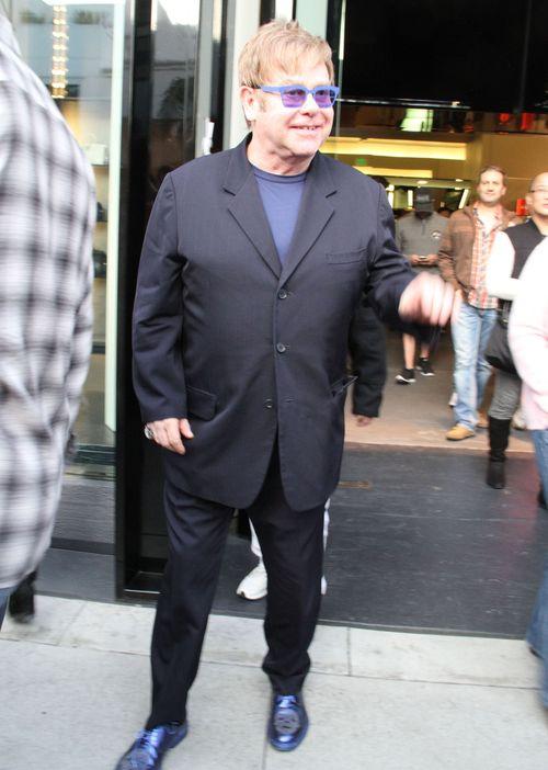 Elton John z partnerem na zakupach w Beverly Hills