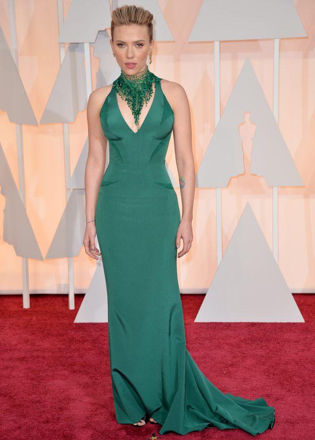 Scarlett Johansson na oscarowej gali (FOTO)